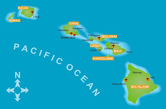 hawaii-karte